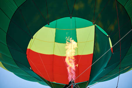The flame inside the balloon for all purposes