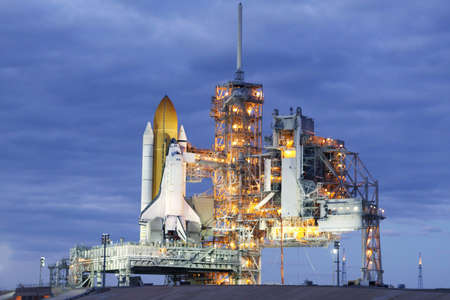Launch pad of the space shuttle. Elements of this image were furnished by NASA For any purpose.