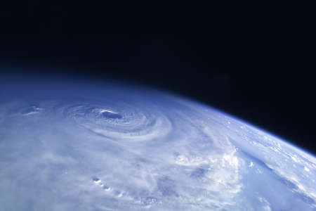 A huge tornado, a cyclone from space. For any purpose.