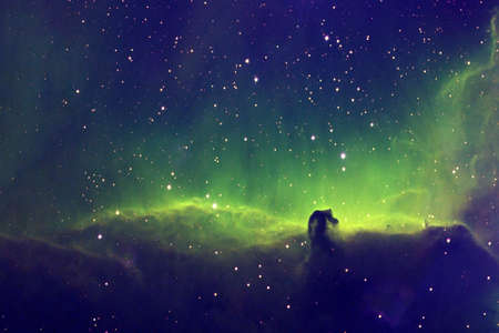 Deep space, a beautiful galaxy. Background
