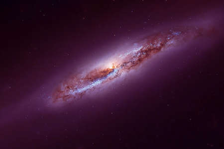 Spiral of the far galaxy