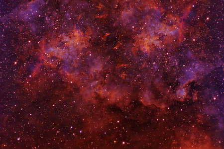 Beautiful colored space with stars. Elements of this image were furnished by High quality photo