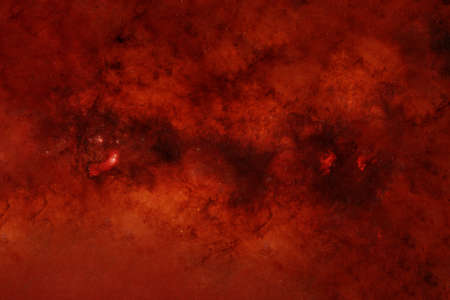 Space in red colors. Elements of this image were furnished by NASA. 스톡 콘텐츠