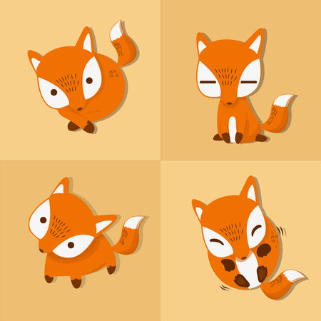 beatification: little fox four stance and emotion