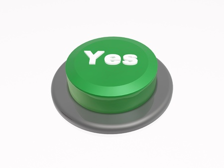 caption: Button with caption on white background. Stock Photo