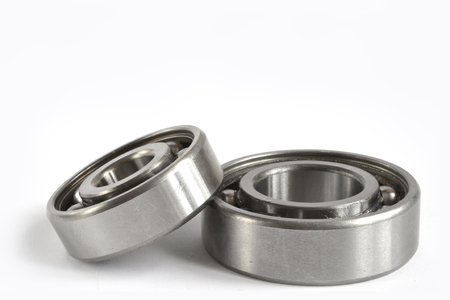 Two bearings on the white background.