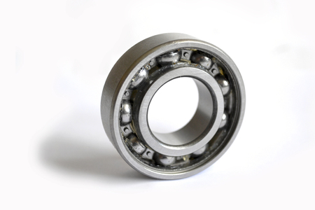 Close-up bearing on the white background. Banque d'images