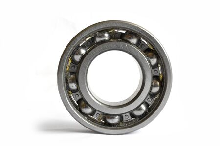 Close-up bearing on the white background.