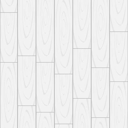 White seamless pattern of a wooden floor texture.Vector illustration