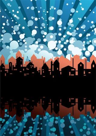 vectorrn: city theme background