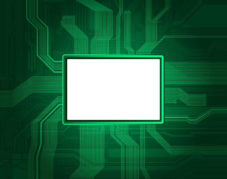 Banner de estilo tecnol�gico