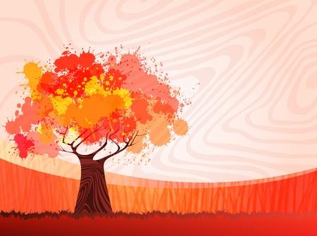 creative nature theme background.  Vector