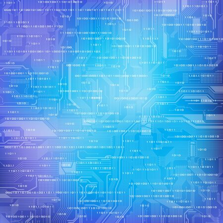 Abstract technology theme background. Eps10  Illustration