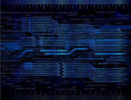 Fondo de tema de tecnolog�a de dise�o abstracto. Eps10
