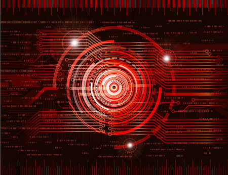 Abstract technology theme background. Eps10  Vector