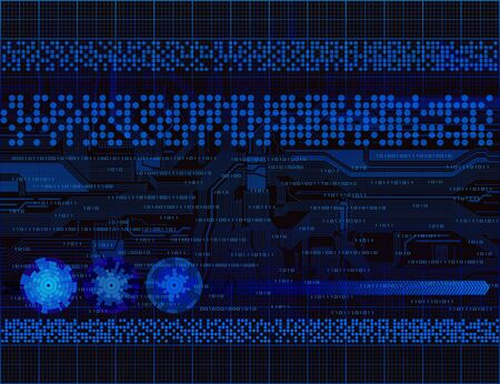 Modern technology theme background. Eps10  Vector