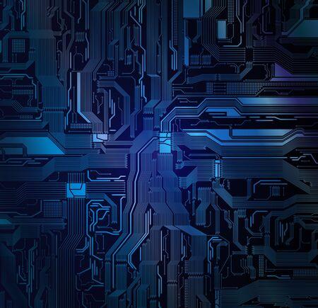 Detailed circuit pattern Eps10