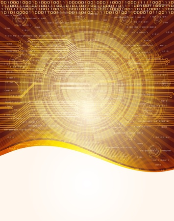digi: Abstract, technology theme  background. Eps10