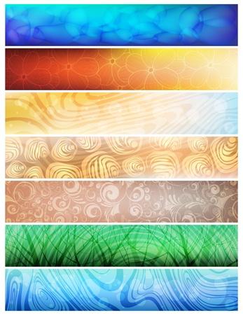 Creative design, nature theme vector banners. eps10 Stock Vector - 8972908