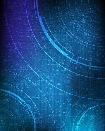Tema de la tecnolog�a de dise�o abstracto