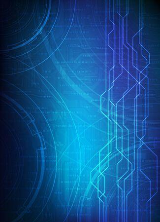 Dise�o abstracto, tema de la tecnolog�a