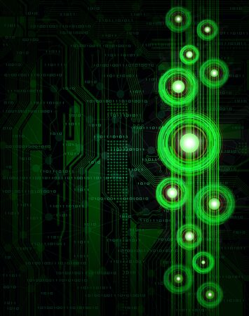 Abstract design, modern technology theme Vector
