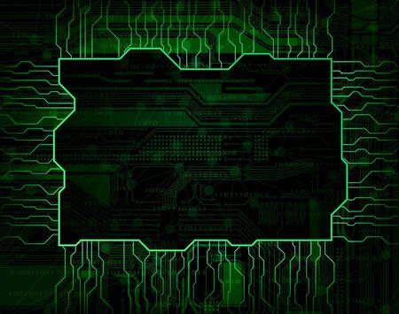 Modern technology theme Stock Vector - 9239042