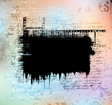 Grungy vector background. Eps10 layered vector file.