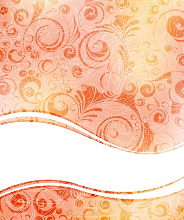 ornamented: creative ornamented vector banner. eps10 vector format  Illustration