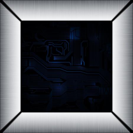 abstract design vector frames. eps10  Vector