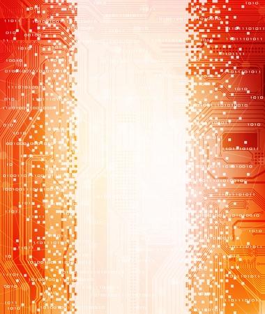 modern technology theme design banner. eps10