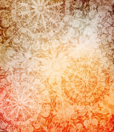 ornamented: abstract ornamented background.