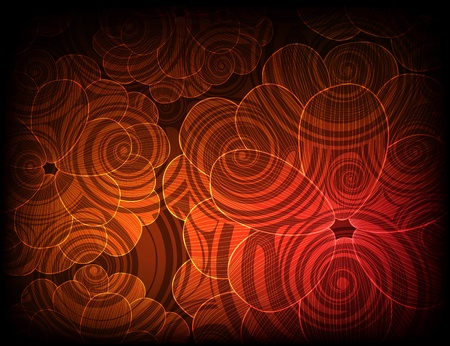 ornamented: abstract ornamented background