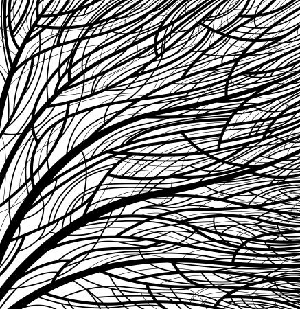 stylized tree pattern