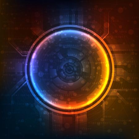 futuristic design background