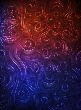 ornamented: ornamented background  eps10 layered vector file
