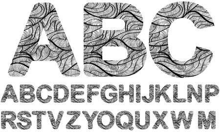 ornamented: creative design ornamented letters