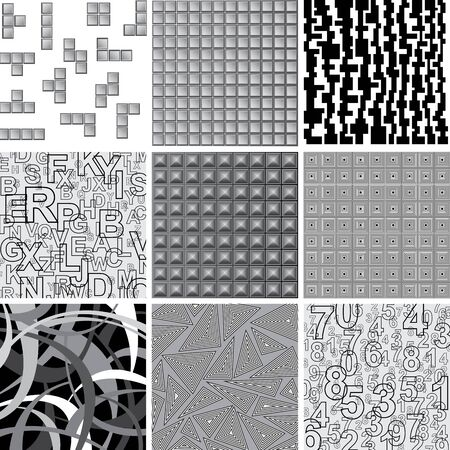 vector collection of abstract patterns