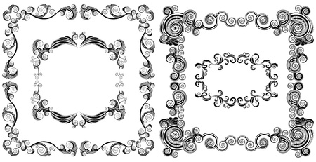 ornamented: ornamented vector frames