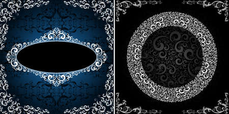 ornamented: ornamented stylish backgrounds, eps8 format vector Illustration