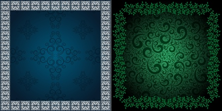 ornamented: ornamented backgrounds, eps8 format vector
