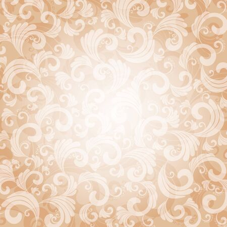 ornamented: abstract ornamented background, eps10 vector  Illustration