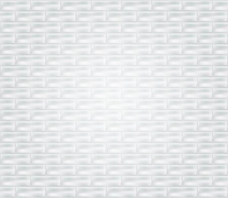 background pattern: wall with white decorative bricks, eps10 vector illustration