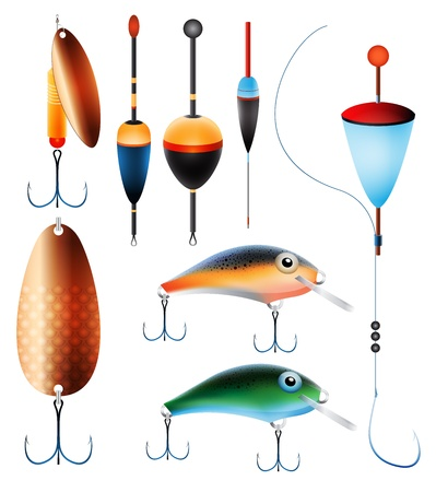 8,759 Fishing Lure Cliparts, Stock Vector And Royalty Free Fishing ...