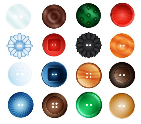 45,870 Clothing Buttons Stock Vector Illustration And Royalty Free ...