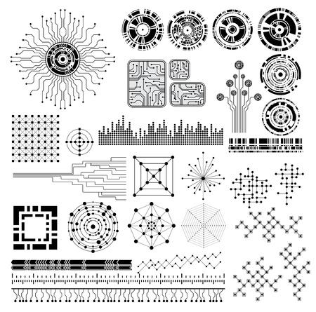 technology style design elements