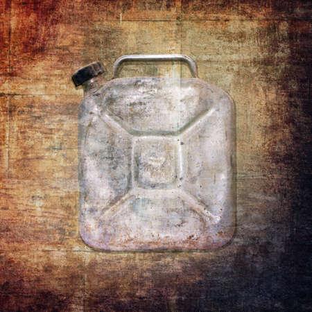 cisterna: antigua cisterna de fondo sucio