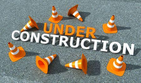 logotipo de construccion: en construcci�n logo n.2