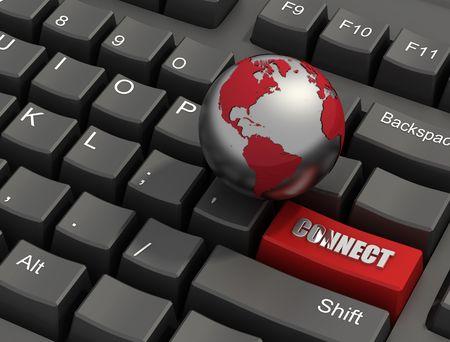 uaktywnić: Specjalne połączyć czerwony przycisk na klawiaturze ze świata --