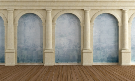 arch: Large room of an old luxury home - rendering